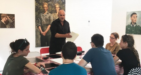 Ateliers d'initiation au monotype